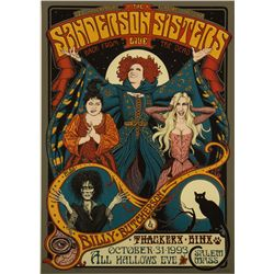 Hocus Pocus Limited Edition Miles Teves Signed Screen Print