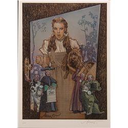 Wizard of Oz Limited Signed Drew Struzan Giclee Print