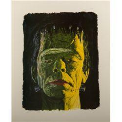 James Bama Frankenstein's Monster Color Print