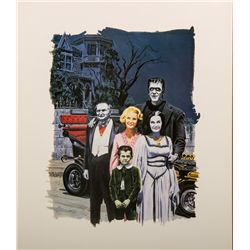 The Munsters Color Print