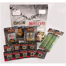 Universal Monsters Stamp Collection
