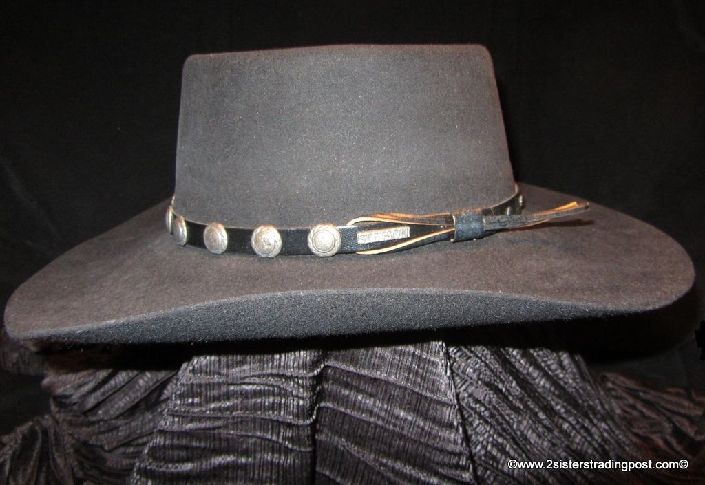 4X Beaver Gambler Cowboy Hat by Stetson