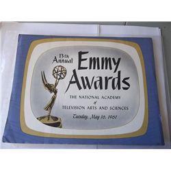 1961 Emmy Awards Program Signed