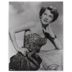 Joan Fontaine Signed Vintage 8x10 Photo