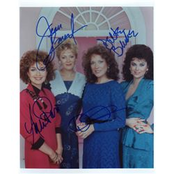 "The Cast of ""Designing Women"" Signed 8x10 Photo"