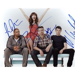 The New Girl  Cast Signed 8x10 Photo