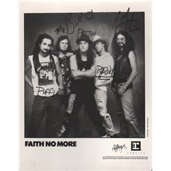 """Faith No More"" Band Signed 8x10 Photo"