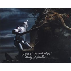 Andy Scheidler  The Wizard of Oz  Stunt Double Signed 8x10 Photo