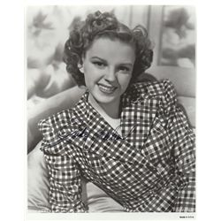 Judy Garland Vintage Signed 8x10 Photo