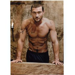 Andy Whitfield  Spartacus  Signed 8x10 Photo