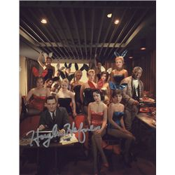 "Hugh Hefner ""Playboy"" Signed 8x10 Photo"