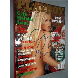 December 1996 Playboy Magazine Signed by Jenny McCarthy