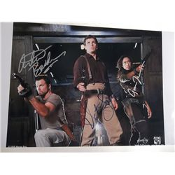 "Nathan Fillion, Gina Torres, Adam Baldwin Signed ""Firefly"" 11x17 Photo"