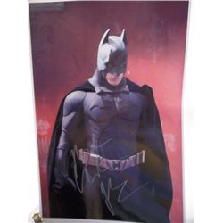 "Christian Bale ""Batman"" Signed 11x17 Photo"