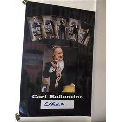 Carl Ballantine Signed 11x17 Poster Limited to 25 Pieces