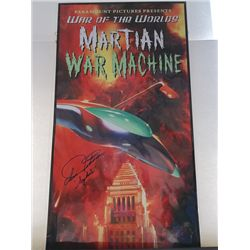 Ann Robinson  War of the Worlds  Signed Large Lithograph
