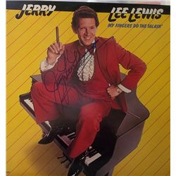 """Jerry Lee Lewis """"My Fingers Do the Talking"""" Signed LP"""