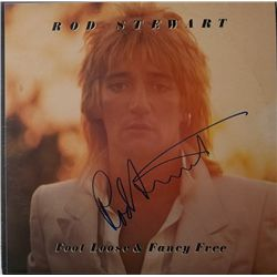 """Rod Stewart """"Foot Loose and Fancy Free"""" Signed LP"""