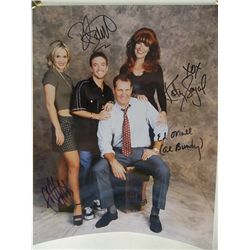 """""""Married With Children"""" Cast Signed 11x14 Photo"""