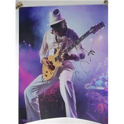 Carlos Santana Signed 11x14 Photo