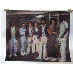"""The Cast of """"Alien"""" Signed 11x14 Photo"""