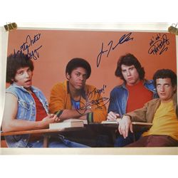"""""""Welcome Back Kotter"""" Sweathogs Signed 13x17 Photo"""