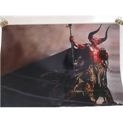 """Tim Curry """"Legend"""" Signed 11x14 Photo"""