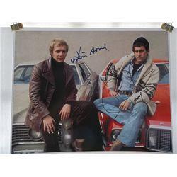 "David Soul, Paul Michael Glaser ""Starsky and Hutch"" Signed 11x14 Photo"