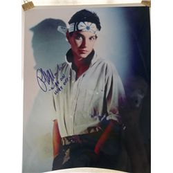 "Ralph Macchio ""The Karate Kid"" Signed 11x14 Photo"