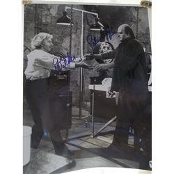 "Gene Wilder, Peter Boyle ""Young Frankenstein"" Signed 11x14 Photo GAI Certified"