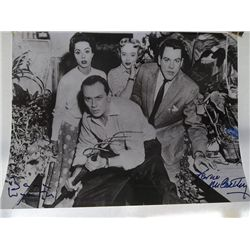 """Kevin McCarthy, Dana Wynter """"Invasion of the Body Snatchers"""" Signed 11x14 Photo"""