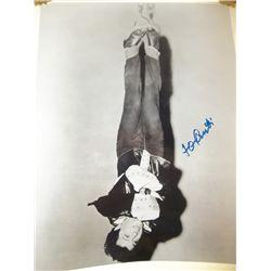 """Tony Curtis """"Houdini"""" Signed 11x14 Photo"""
