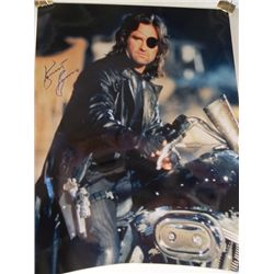 """Kurt Russell """"Escape from New York"""" Signed 11x14 Photo"""