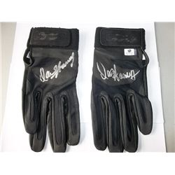 """David Hasslehoff """"Knight Rider"""" Signed Driving Gloves"""