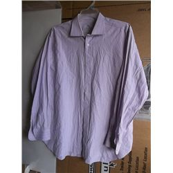 "Pierce Brosnan ""007"" Screen Worn Purple Dress Shirt"
