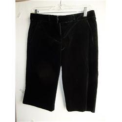 Jessica Biel Screen Worn Black Velour Shorts