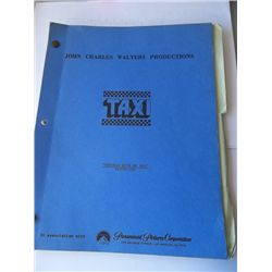 """Taxi"" Original TV Series Script with Revisions"