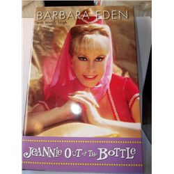 "Barbara Eden ""Jeannie in the Bottle"" Signed Hardcover Book"