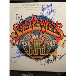 """""""Sgt. Pepper's Lonely Hearts Club Band"""" Signed LP"""