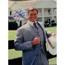"Larry Hagman ""Dallas"" Signed 11x14 Photograph"