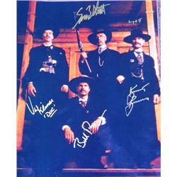 Tombstone Cast Signed 11x14 Photograph