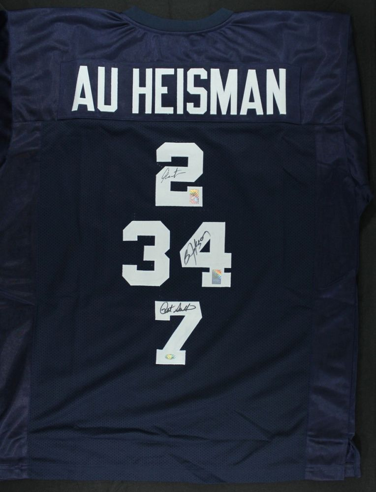 newest collection 55a40 34920 Cam Newton, Bo Jackson & Pat Sullivan Signed Auburn ...