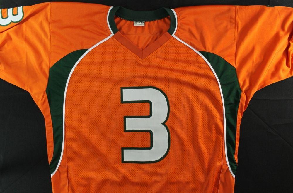 buy popular d3099 ef153 Frank Gore Signed University of Miami Jersey (JSA COA)