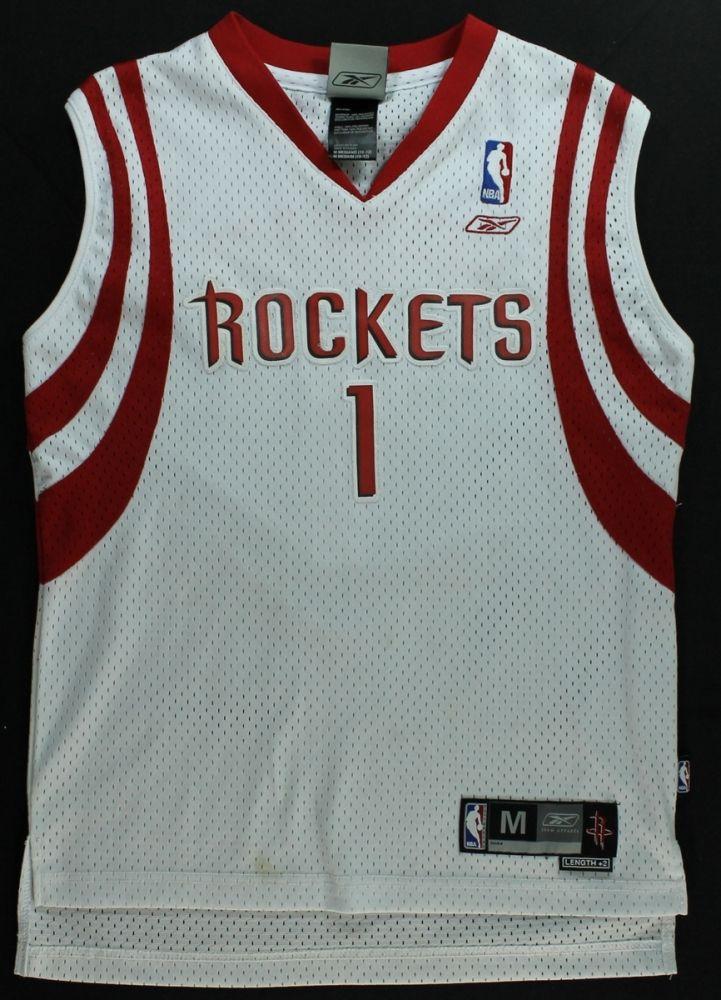 new arrivals c28bf 48ce5 Tracy McGrady Signed Rockets Jersey (PA LOA)