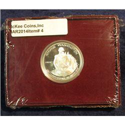 4. 1982 S Silver Proof George Washington Commemorative Half Dollar in original box of issue.