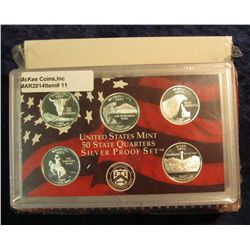 11. 1987 S Silver U.S. Proof Set. 13 pcs. Original as issued.