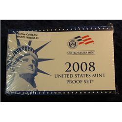43. 2008 U.S. Proof Set. Original as issued. CDN Bid is $56.00.