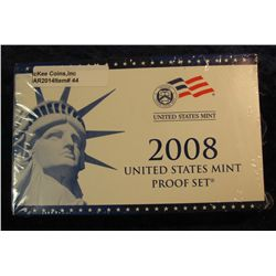 44. 2008 U.S. Proof Set. Original as issued. CDN Bid is $56.00.