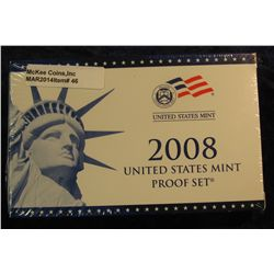 46. 2008 U.S. Proof Set. Original as issued. CDN Bid is $56.00.