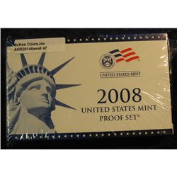 47. 2008 U.S. Proof Set. Original as issued. CDN Bid is $56.00.